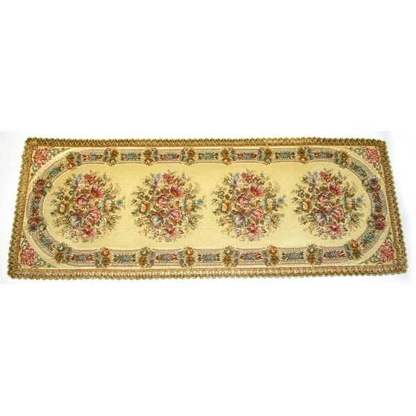 Ismael Woven Brocade Table Runner by Astoria Grand