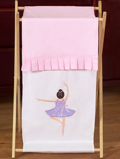 Ballerina Laundry Hamper by Sweet Jojo Designs