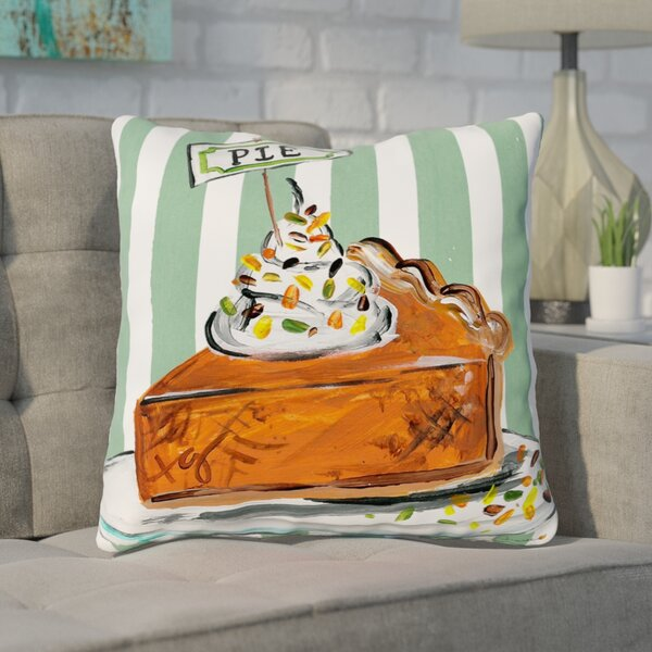 Bugg Pumpkin Pie Throw Pillow by Ivy Bronx