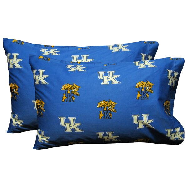Collegiate NCAA Kentucky Wildcats Pillowcase (Set of 2) by College Covers