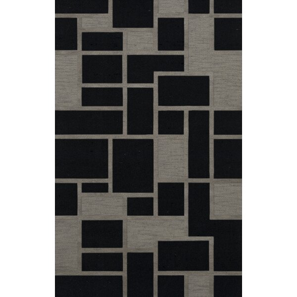 Haledon Wool Blackstone Area Rug by Orren Ellis
