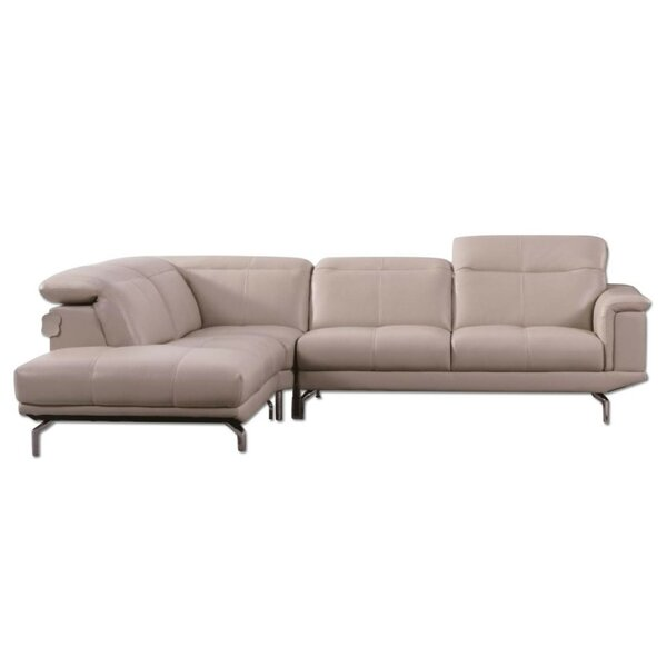 Bargain Zahara Thick Sectional by Orren Ellis by Orren Ellis