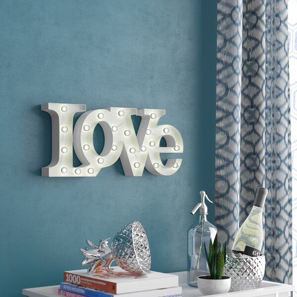 Love LED Marquee Sign by Wrought Studio