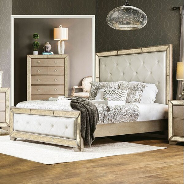 Susann Upholstered Standard Bed by House of Hampton