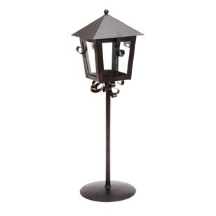 Reviews Metal Lantern By Charlton Home