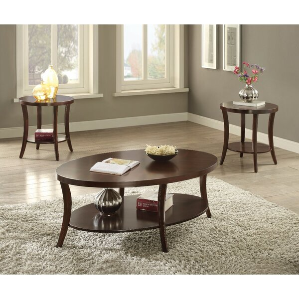 Rempe Graceful 3 Piece Coffee Table Set By Charlton Home