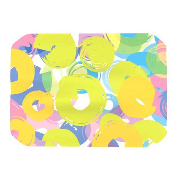 Circle Me Placemat by KESS InHouse