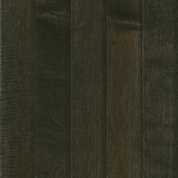 Prime Harvest 5 Solid Maple Hardwood Flooring in Midnight Sky by Armstrong Flooring