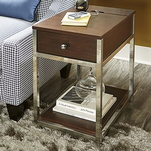 Aristocles Wood End Table by Orren Ellis