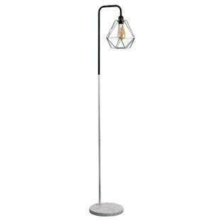 Silverchrome floor lamps wayfair talisman 153cm arched floor lamp aloadofball Choice Image