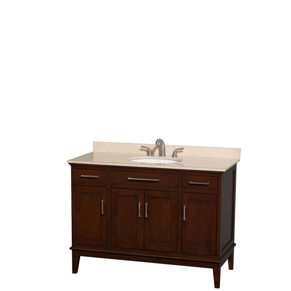 Hatton 48 Single Bathroom Vanity Set by Wyndham Collection