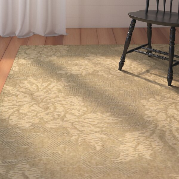 Laurel Gold & Natural Outdoor Area Rug by August Grove