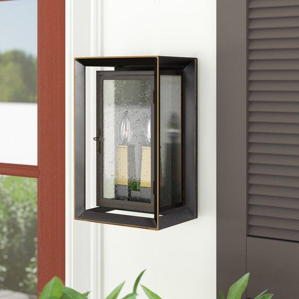 Zelma 2-Light Outdoor Wall Lantern by Laurel Foundry Modern Farmhouse