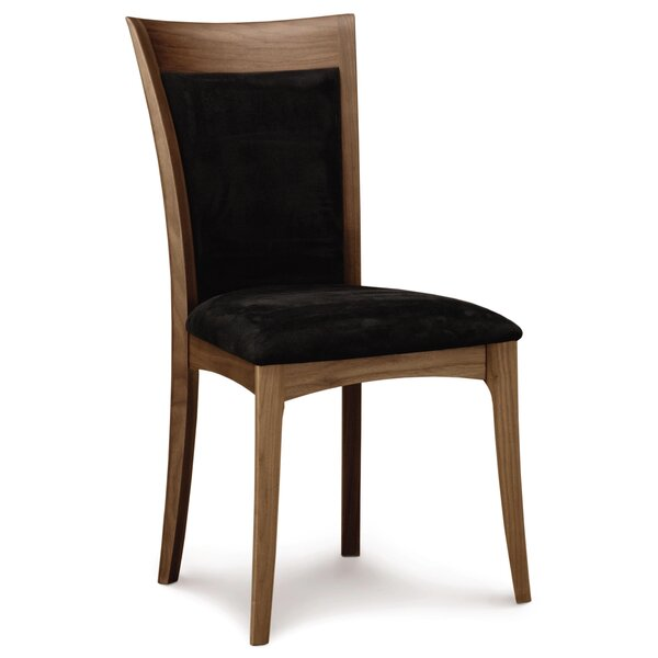 Morgan Side Chair in Graphite Fabric by Copeland Furniture Copeland Furniture