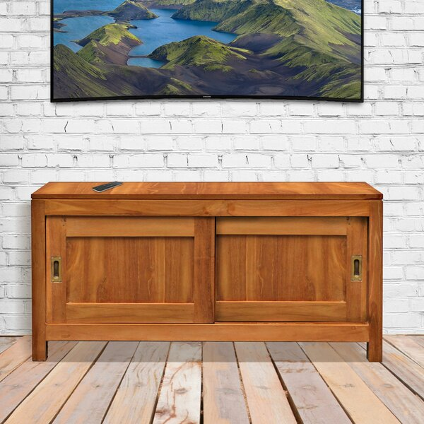 Oakland Solid Wood TV Stand For TVs Up To 43
