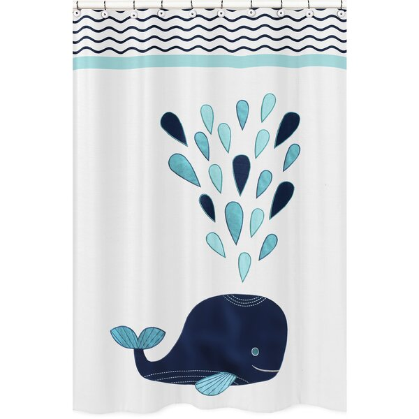 Whale Shower Curtain by Sweet Jojo Designs