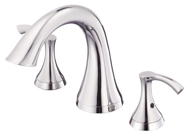 Antioch Double Handle Deck Mount Roman Tub Faucet by Danze®