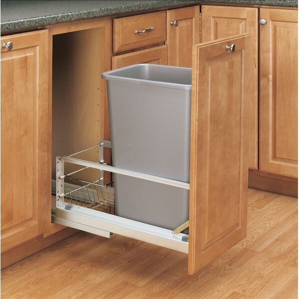Pull out Trash Can by Rev-A-Shelf