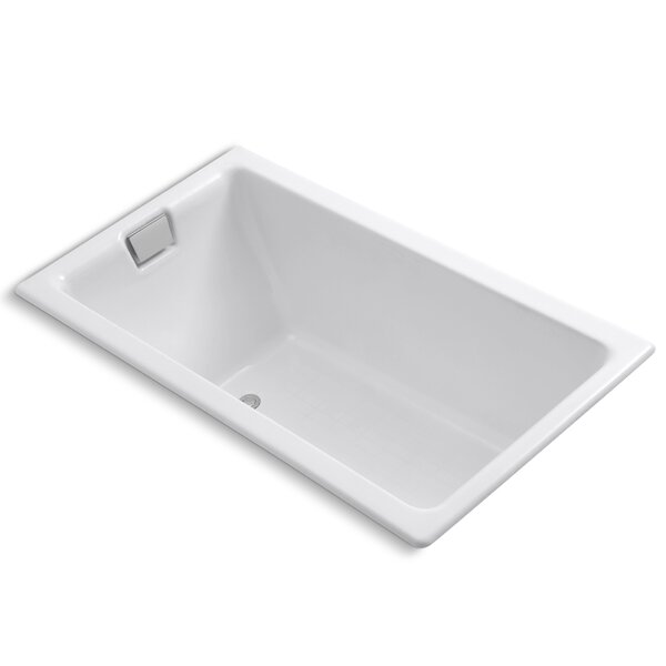 Tea-For-Two 66 x 36 Soaking Bathtub by Kohler