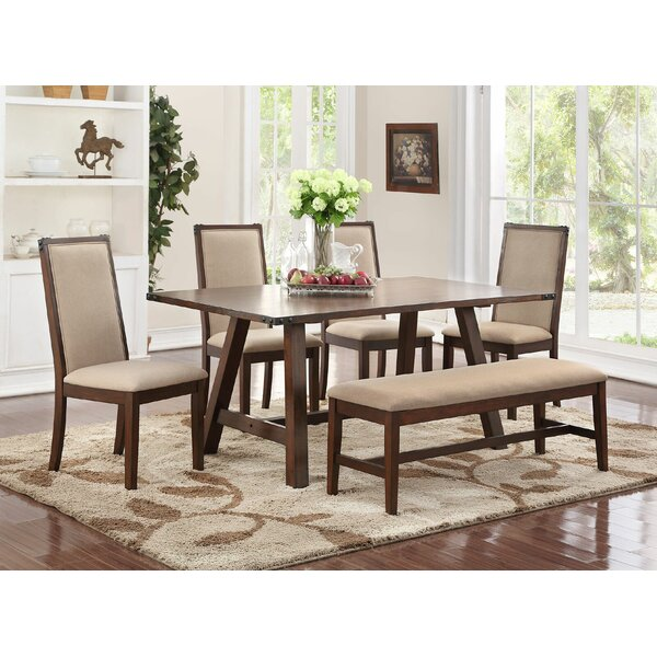 Chandeleur 6 Piece Dining Set by Darby Home Co