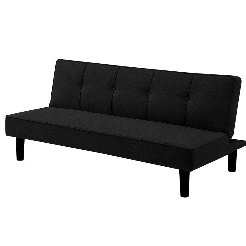 37 6 Tufted Back Convertible Sofa