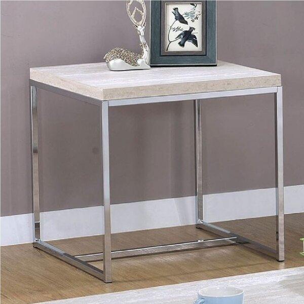 Idalia End Table by Orren Ellis
