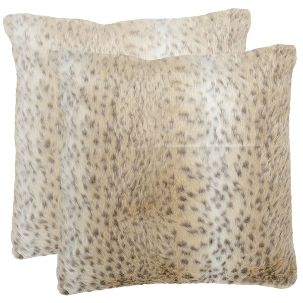 Snow Throw Pillow (Set of 2) by Safavieh