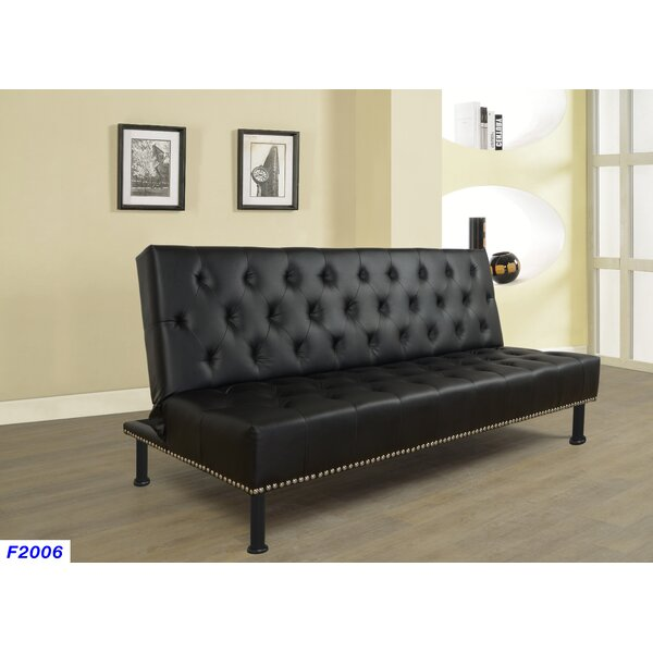 Camryn Fine Furniture Convertible Sofa by Winston Porter