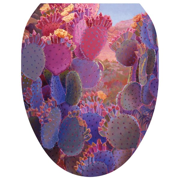 Desert Creations Toilet Seat Decal by Toilet Tattoos