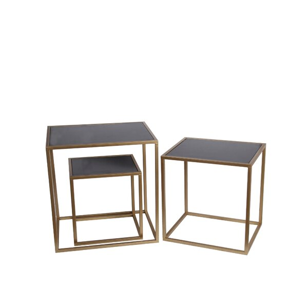 Sheredan 3 Piece Nesting Tables by Willa Arlo Interiors