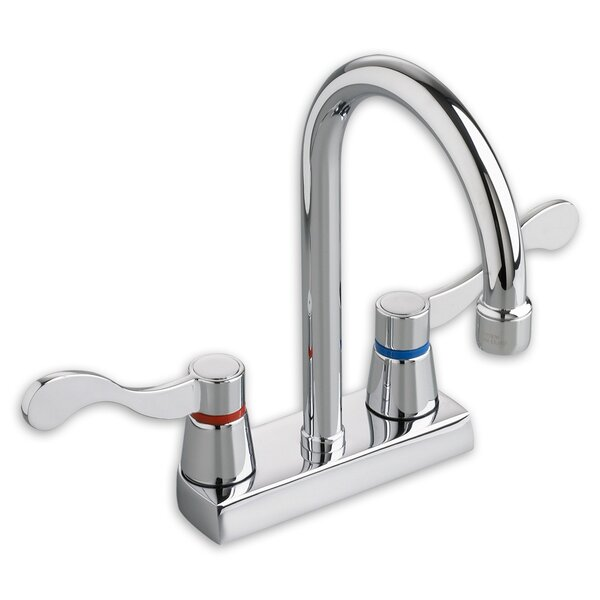 Heritage Centerset Gooseneck Bathroom Faucet