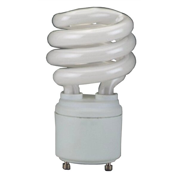 GU24 Fluorescent Light Bulb Spiral Light Bulb by Royal Pacific