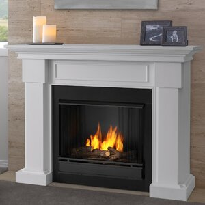 Hillcrest Gel Fuel Fireplace Real Flame