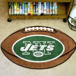 NFL - New York Jets Football Mat by FANMATS