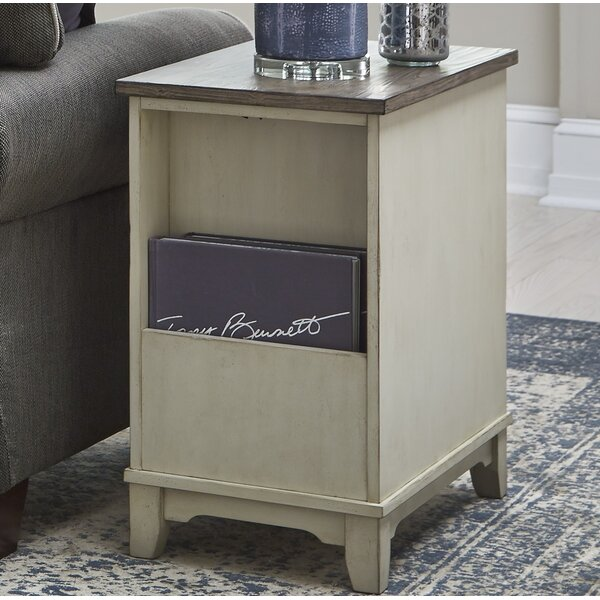 Hawthorne End Table With Storage By Gracie Oaks
