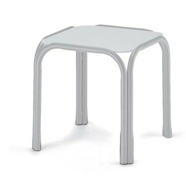 Marine Grade Polymer Tables Aluminum Side Table (Set of 4) by Telescope Casual