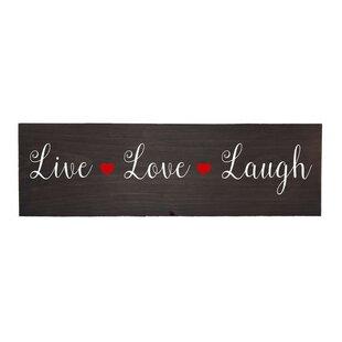 Live Love Laugh Wall Décor
