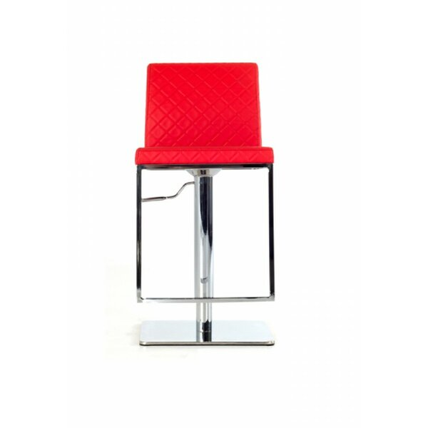 Condrey Adjustable Height Bar Stool by Orren Ellis