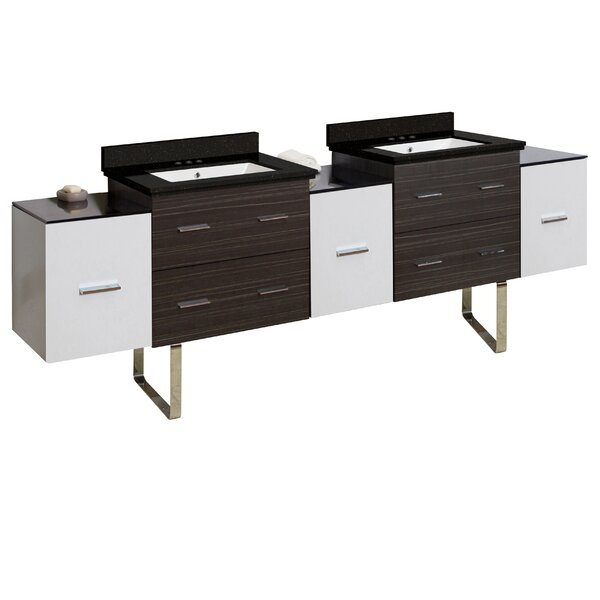 Hinerman 90 Double Bathroom Vanity Set