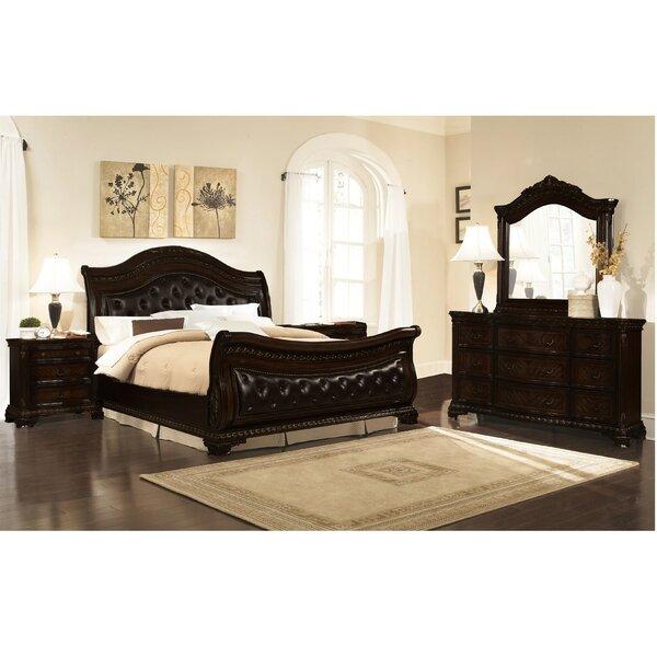 Damaris Sleigh 5 Piece Bedroom Set by Astoria Grand