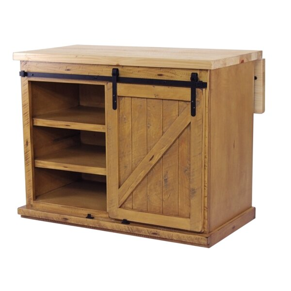 Uli Kitchen Island Butcher Block Top by Gracie Oaks