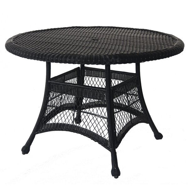 Starcher Wicker/Rattan Dining Table by Charlton Home