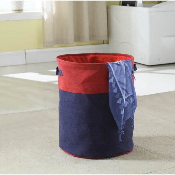 2-Tone Laundry Hamper by Bintopia
