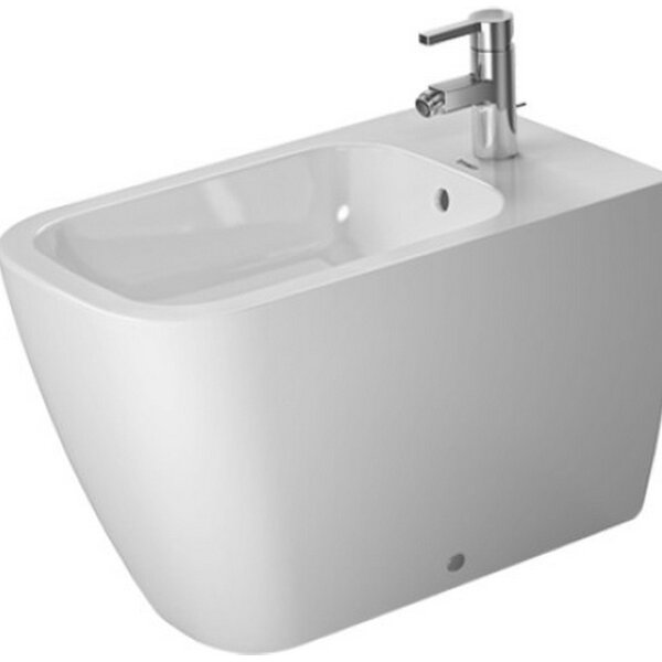 Happy D 25 Floor Standing Bidet by Duravit