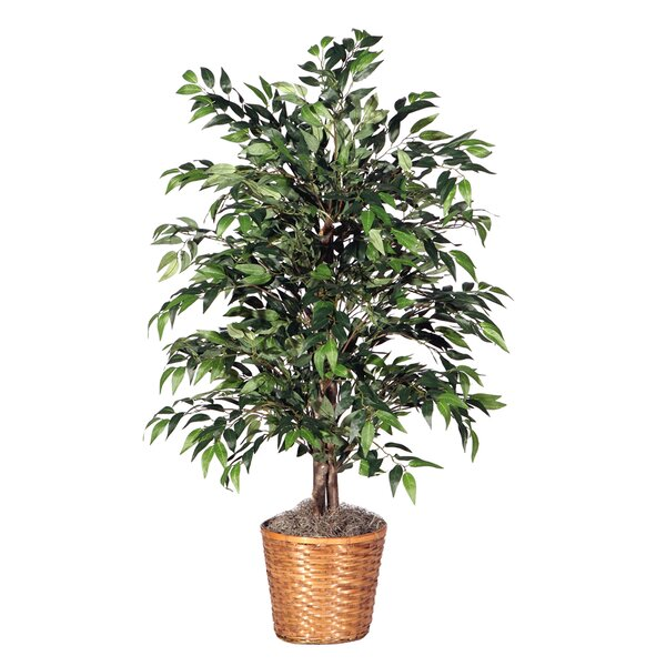 Deluxe 48 Artificial Potted Smilax Tree in Dark Green by Vickerman