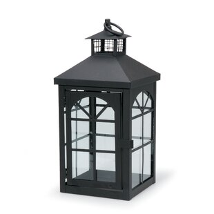 Reviews Metal Lantern By Breakwater Bay