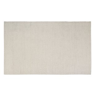 Buy clear Coto Hand-Woven White Area Rug By Rosecliff Heights