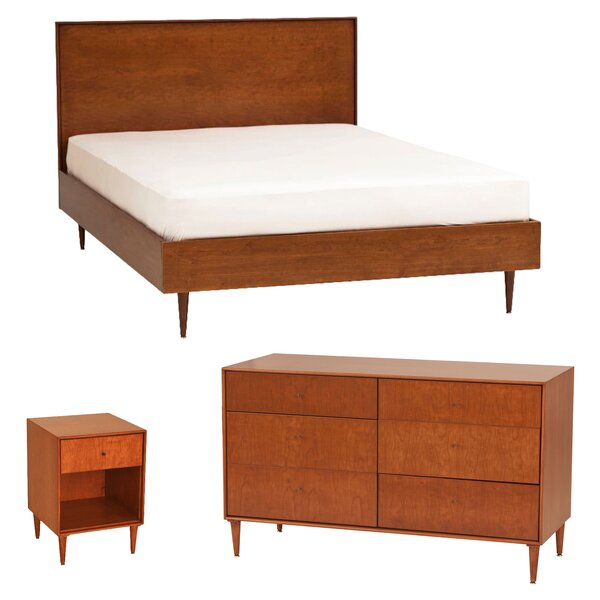 Wirth Platform Configurable Bedroom Set by Corrigan Studio
