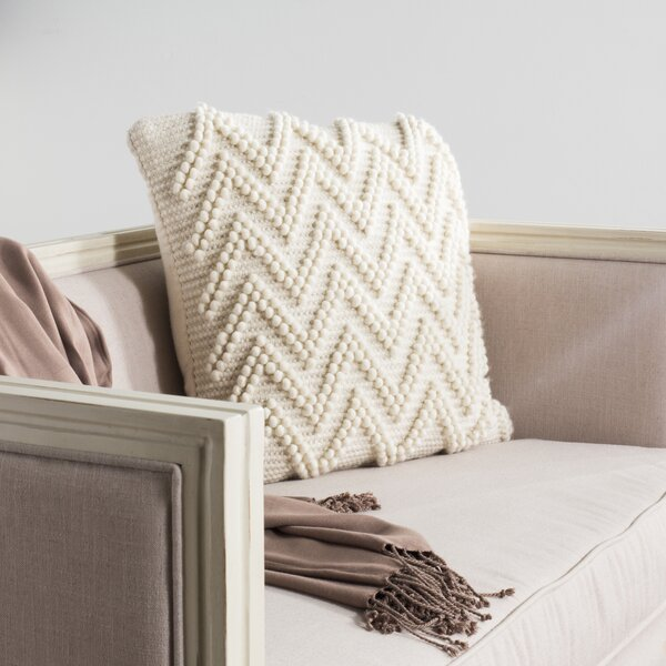 Lozano Chevron Loop Throw Pillow by Mistana