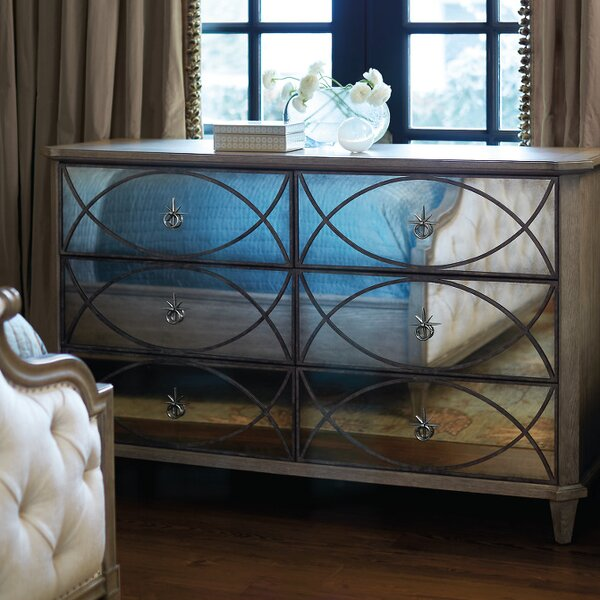 Marquesa 6 Drawer Double Dresser by Bernhardt